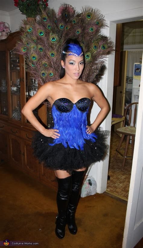 creative sexy peacock costume  minute costume ideas