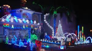 our 61 000 led christmas lights 2008 dance to wizards in