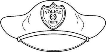 free coloring pages of hat policeman