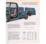 1973 Chevrolet And GMC Truck Brochures / Light