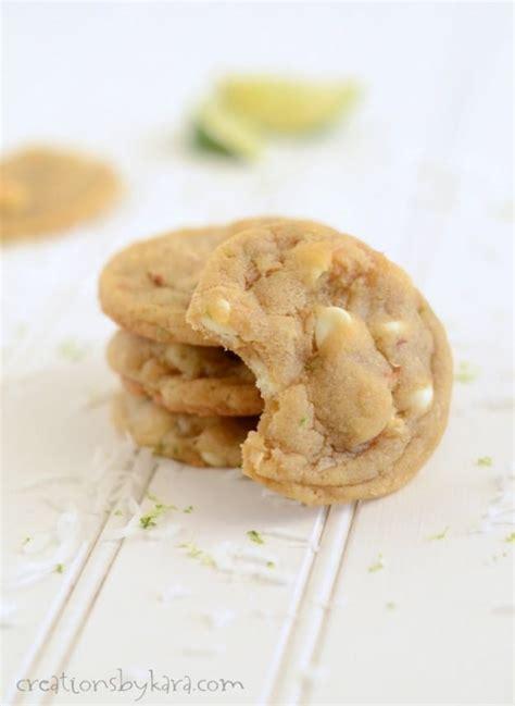 Joel Soft Chocolate Citrus 1 lime coconut white chocolate cookies