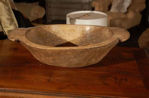 antique wooden dough bowl at 1stdibs