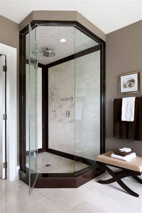 bathrooms with corner showers 20 bathrooms with corner showers designs