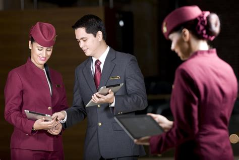 Airways Cabin Crew by The Qatar Airways Cabin Crew Process And Stages