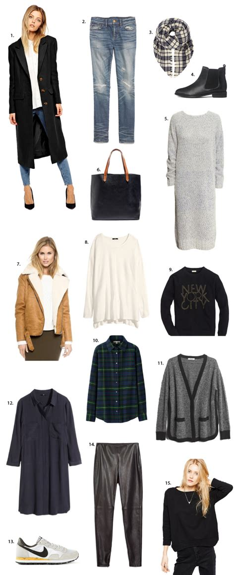 Winter Wardrobe Basics by 15 Wardrobe Essentials For Winter Say Yes