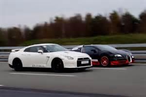 Bugatti Vs Nissan 1200 Hp Nissan Gt R Vs 1200 Hp Bugatti Veyron