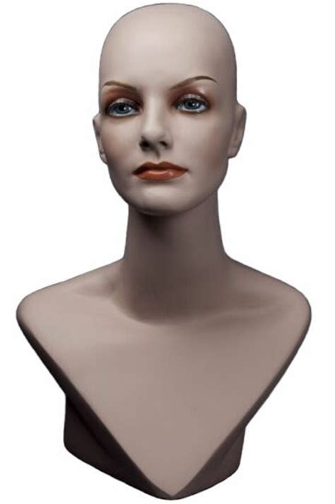 female display heads mannequin head forms display boutique display bust ladies display fashion accessory