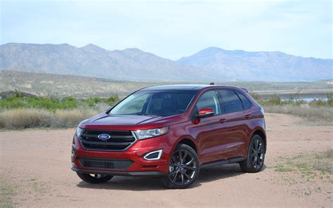 2016 Ford Edge Sport Review by 2016 Ford Edge Review And Information United Cars