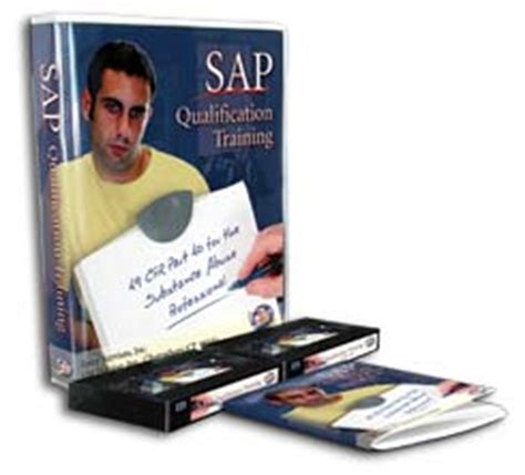 sap tutorial dvd sap certification training program drugs alcohol