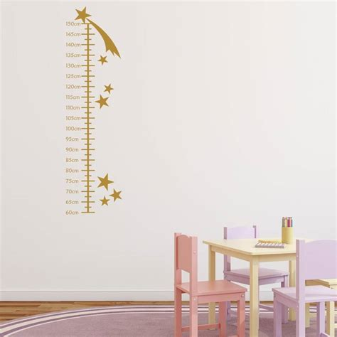 wall sticker growth chart shooting growth chart wall sticker by mirrorin