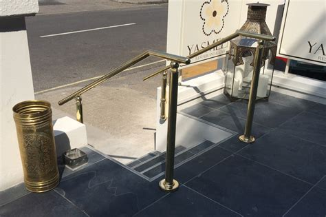 Brass Handrail Systems sg system products limited citadel brass handrail