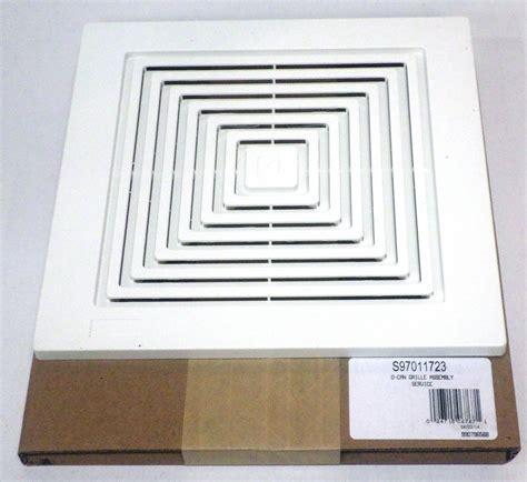 broan bathroom ceiling fan 97011723 broan bath bathroom ceiling fan grille grill
