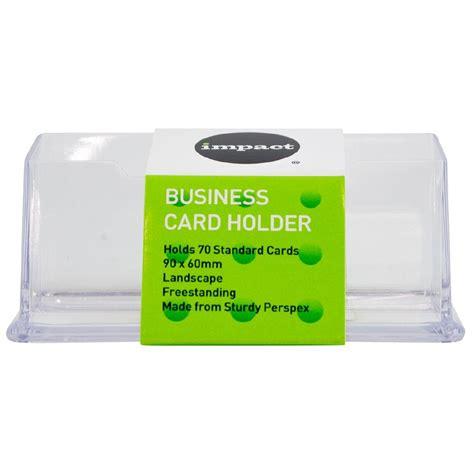 Freestanding Business Card Holder