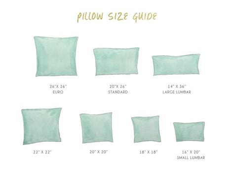 Pillow Sizes For Bed by 17 Best Images About Pillow Jardin On