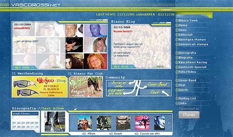 sito vasco kino web graphic design
