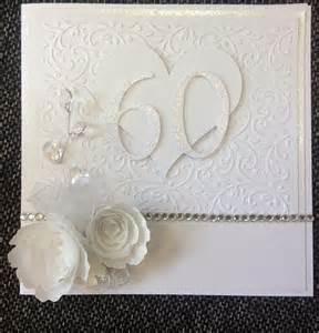 60th wedding anniversary card tarjeteria 60 wedding anniversary wedding