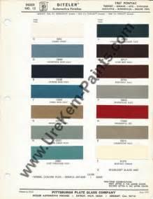 1967 Pontiac Gto Colors 1967 Pontiac Gto Car Paint Colors Urekem Paints