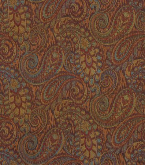 robert allen upholstery upholstery fabric robert allen tamil paisley henna jo ann