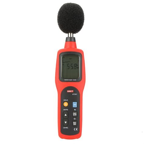 Digital Sound Noise Level Meter Tester 1 uni t ut351 digital sound level meter 30 130db decibel
