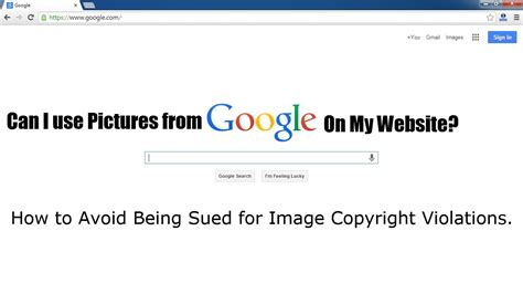 Google Images You Can Use | can i use images or pictures from google on my website