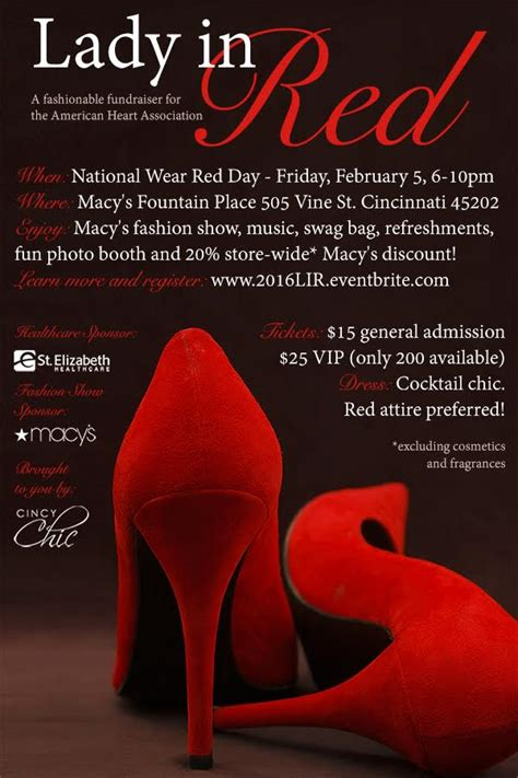 lady  red cincy chic