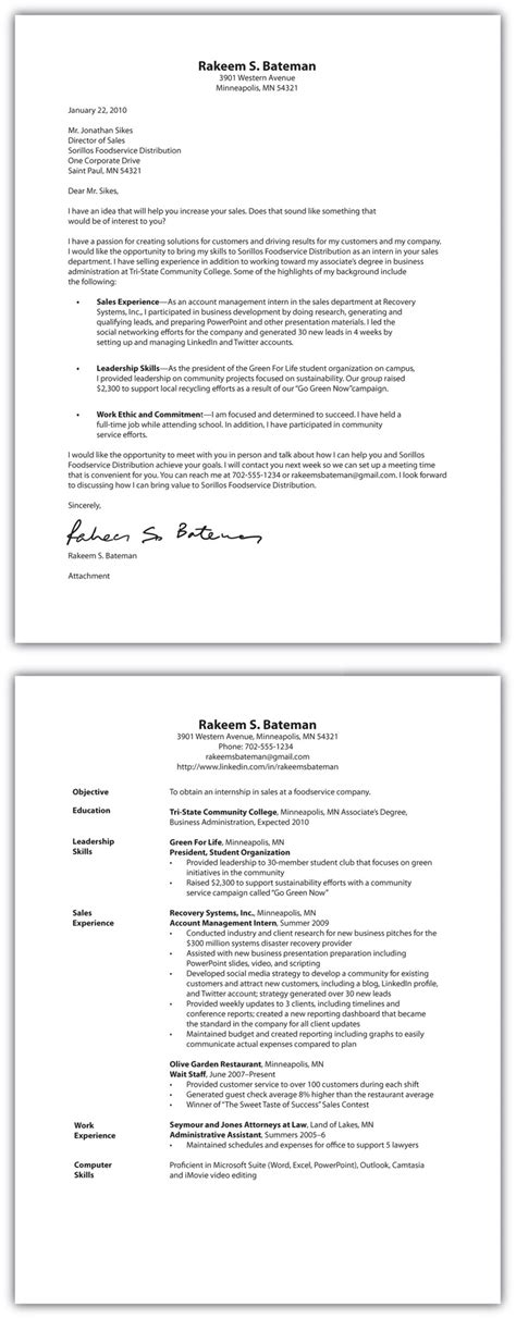 Resume Job Posting Format by Selling U R 233 Sum 233 And Cover Letter Essentials
