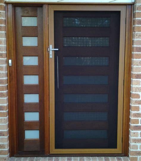 front security doors secureview hinged security screen door stainless steel