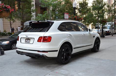 bentley and black 2018 bentley bentayga black edition stock b959 s for