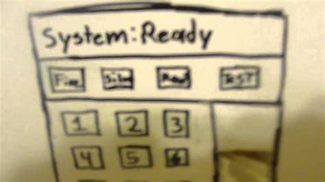 alarm system update alarm system update