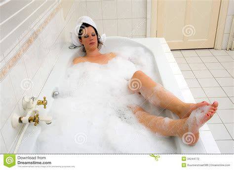 bathroom hot enjoying a hot bath stock photography image 34244772