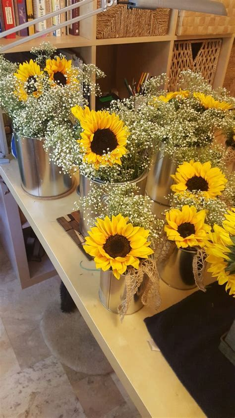 Best 25  Sunflower centerpieces ideas on Pinterest