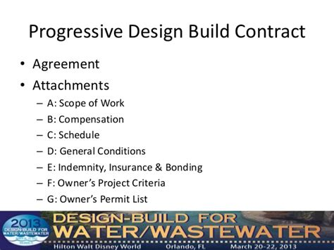 jct design and build contract insurance option c developing procurement documents for progressive design