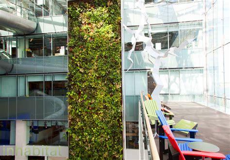 toronto s corus quay building boasts a 5 story living wall