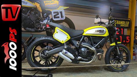 Motorrad Videos Ducati by Video Ducati Scrambler Flat Track Pro 2016 Details Design