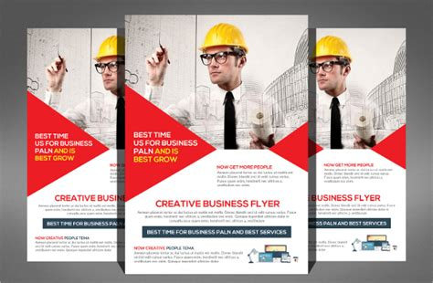 Construction Company Flyer 24 Free Psd Ai Vector Eps Format Download Free Premium Templates Free Construction Flyer Design Templates