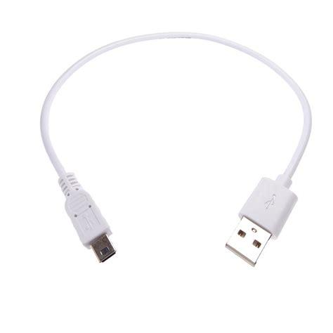 Kabel Usb 2 0 To Usb Mini 30cm usb 2 0 a auf mini b wei 223 30cm kurze kabel de