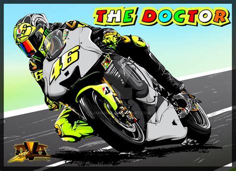 Poster Pop Kayu Valentino Vr46 the doctor vr 46 by djankrixz on deviantart