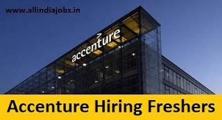 Accenture Mba Application by Accenture Recruitment 2018 2019 Openings For Freshers