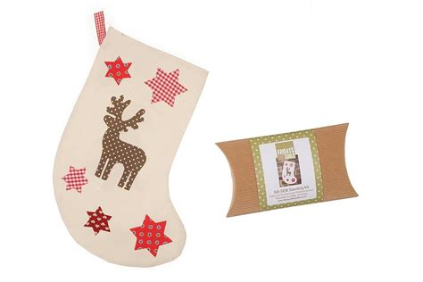 sewing christmas stocking kits no sew christmas stocking kit by make it friday