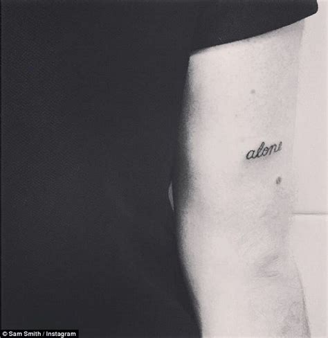 sam smith tattoo sam smith unveils four new tattoos on instagram daily