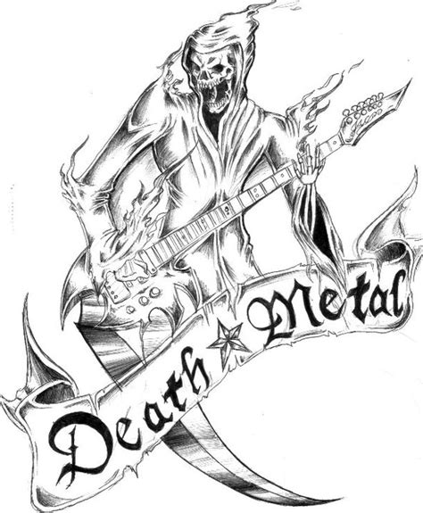 death metal by frostyx999 on deviantart