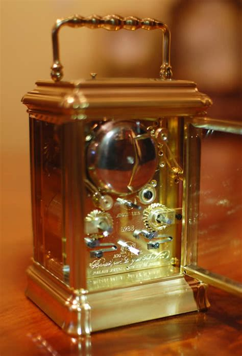 Vintage Carriage Ls by Carriage Clock By Leroy Et Fils With Push Repeat And Alarm