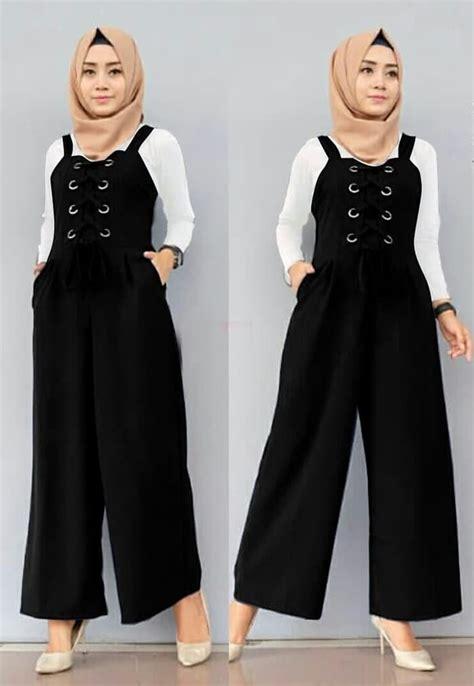 Setelan Baju Muslim 4 setelan baju jumpsuit panjang muslim model terbaru