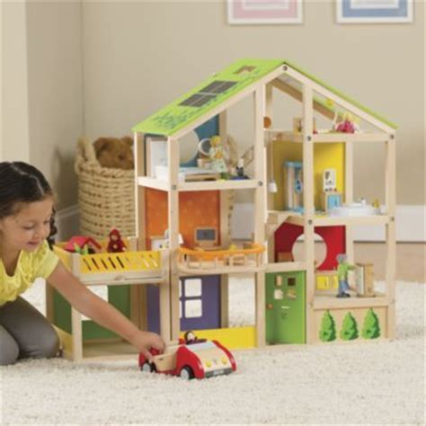 hape doll house hape all season dollhouse with garage for tessa pinterest seasons modern