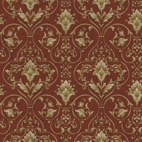 Gold Victorian Wallpaper | wallpaper sample red and gold victorian scroll victorian