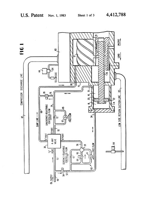 patent  control system  screw compressor
