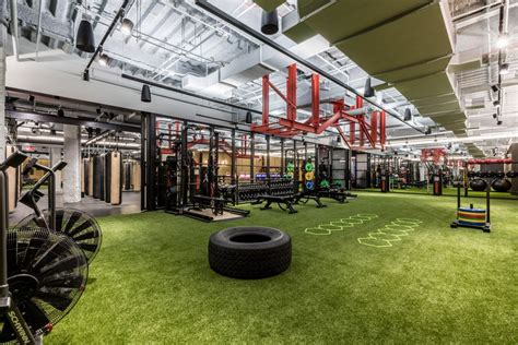 New Homes Interiors wework s first gym in opens in new york city s financial