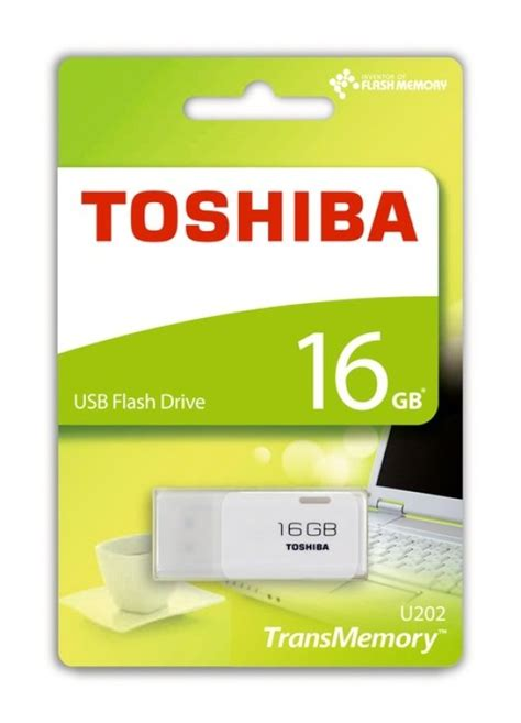 Memory Toshiba 16 Gb toshiba 16gb transmemory u202 usb flash drive white ebuyer