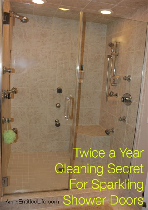 How Do You Clean Shower Doors A Year Cleaning Secret For Sparkling Shower Doors