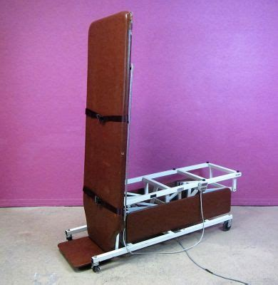 tilt table protocol for physical therapy used midland 7208 electric high low tilt stander stretcher